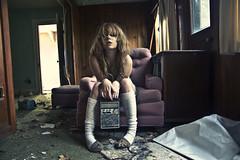 (yyellowbird) Tags: ohio house selfportrait abandoned girl radio cari