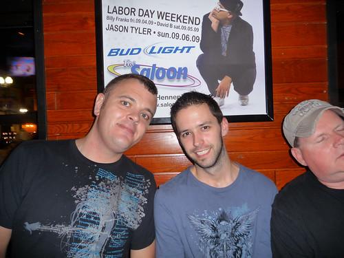 Garrett, Brian and Mike L.