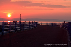 sunset phishing (gobayode photography...times) Tags: uk sunset england pier fishing morecambe seasideresort phishing beachresort morecambebay lightreflections northwestengland sunsetpictures sunsetreflections northwestuk sunsetfishing flickrdiamond morecambepier theunforgettablepictures pieratsunset fishingatsunset morecambepieratsunset morecambeatsunset morecambeuk sunsetphishing