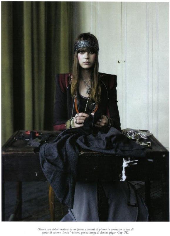 Steven Meisel Vogue Italia April 2009 5