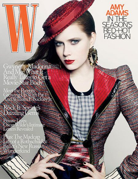Amy Adams – W magazine May 2009 - beautiful girls