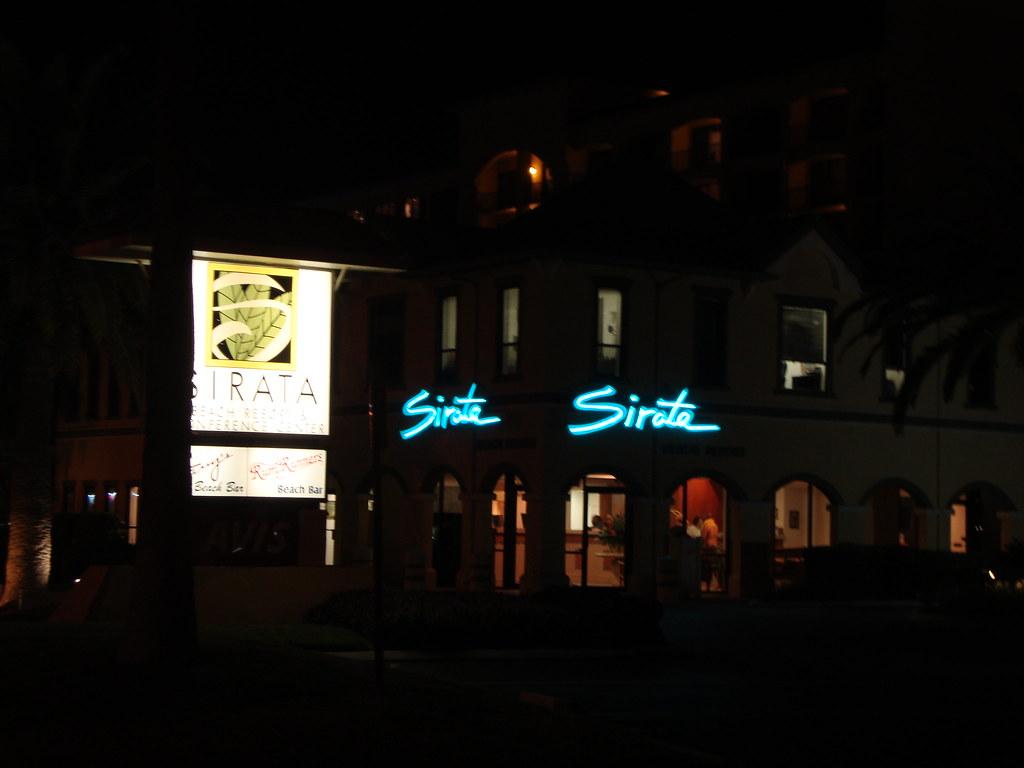 Sirata hotel sign