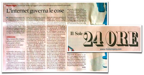 WideTag in Il Sole 24 Ore