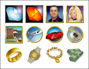 free Mister Money slot game symbols
