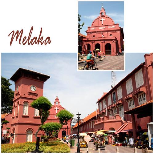 Historical Town, Melaka :: Stadthuys Square