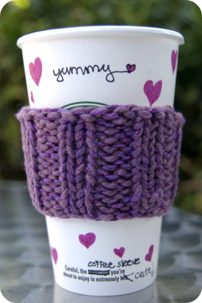 Raspberry Yummy Coffee Sleeve 2