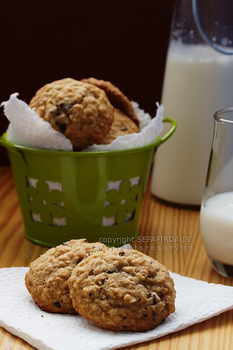 Oatmeal Banana Almond Cookies - 2nd Annual O Foods Contest for Ovarian Cancer Awareness Month