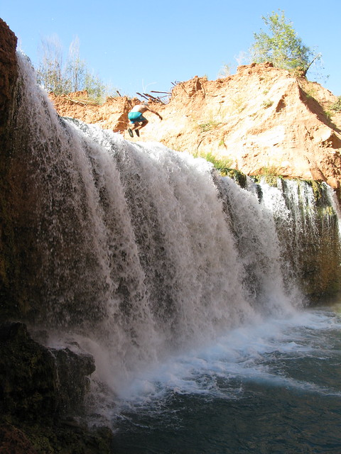 jumpers at rock falls