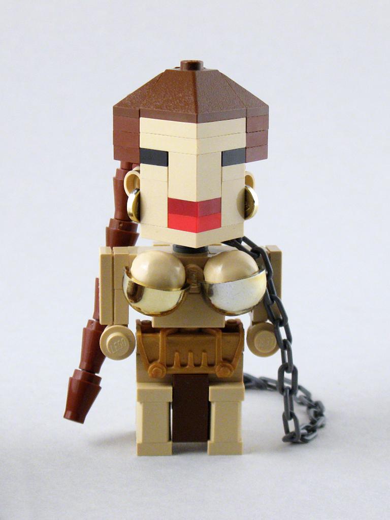 CubeDude princesa Leia esclava