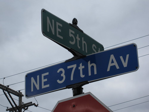 NE 5th St at NE 37th Ave