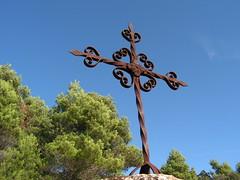 Creu de terme a Arbol (esta_ahi) Tags: espaa spain cross cruz creu tarragona baixcamp ferro hierro forja   arbol