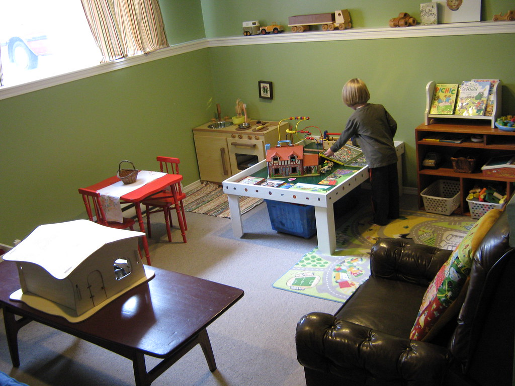reworked playroom