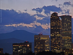 Denver Skyline at dusk, 18 Aug 2009 (photography.by.ROEVER) Tags: nightphotography trip sunset summer vacation skyline clouds evening colorado dusk august denver nightphoto 2009 denverco citypark denvercolorado summertrip downtowndenver denvercitypark denvermuseumofnatureandscience nightphotograph denvercounty denverskyline skylineatnight denveratnight denvermetro august2009 skylineatdusk skylineatsunset skylineofdenver denveratdusk denveratsunset