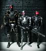 Terminators: Bring out the big guns (toyrewind) Tags: terminator salvation t600 t700 hottoys t800 endoskeleton toyrewind