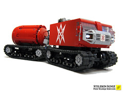 igniz02 (mahjqa) Tags: gun power control lego military transport tracks technic vehicle remote functions bionicle armour rc tracked moc armoured studless bandvagn powerfunctions ltec legoclick