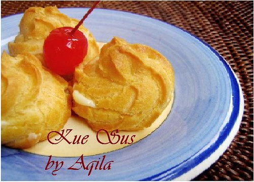 Resep Kue Bantal Ncc: EVENT KULINER ONLINE: NCC SOES WEEK: Kue Sus By Aqila (# 19