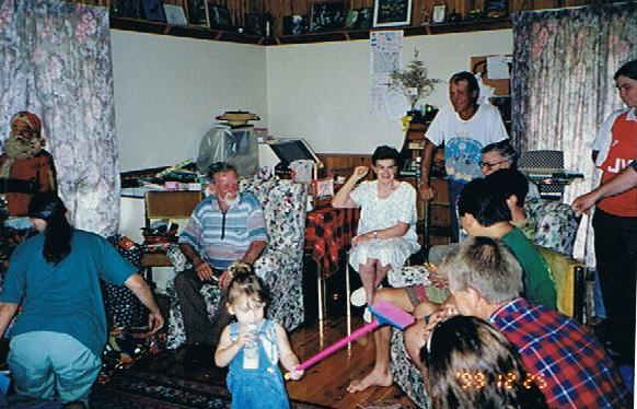 SENO & Family Christmas 1999