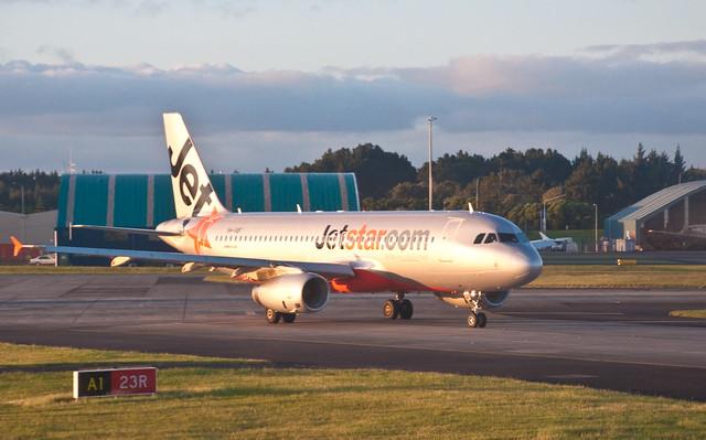 Jetstar A320, Auckland, 6 Nov. 2009
