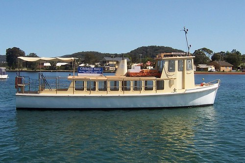 The Cockatoo ferry AKA Codock II