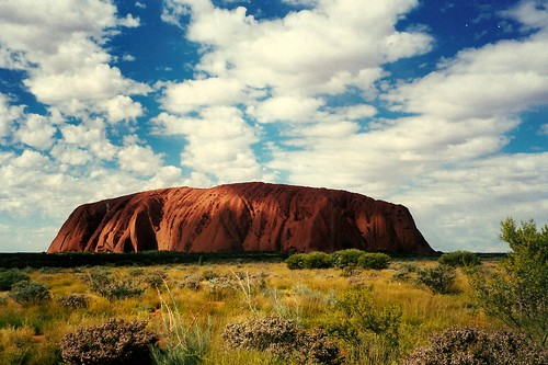 Uluru By Day