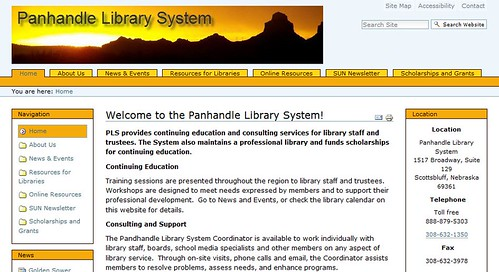 Library System Teen Sites Getting 80