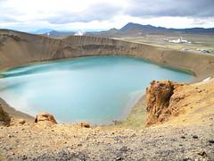 Viti - Krafla area (Masmau) Tags: volcano iceland myvatn islanda krafla viti volcaniclake