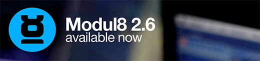 Modul8 2.6 available now