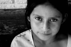 hermanita. (GraceAdams) Tags: portrait white black eye girl guatemala 365 guatemalan 365days panyebar centralamericaeyes