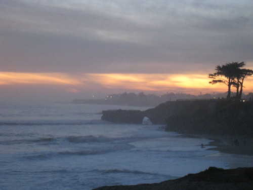 Thanksgiving Sunset in Santa Cruz