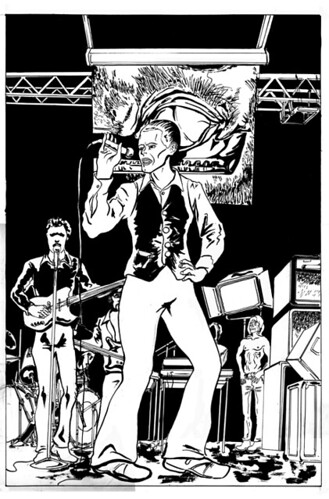 david bowie comic page 11 unfinished by isaac moylan