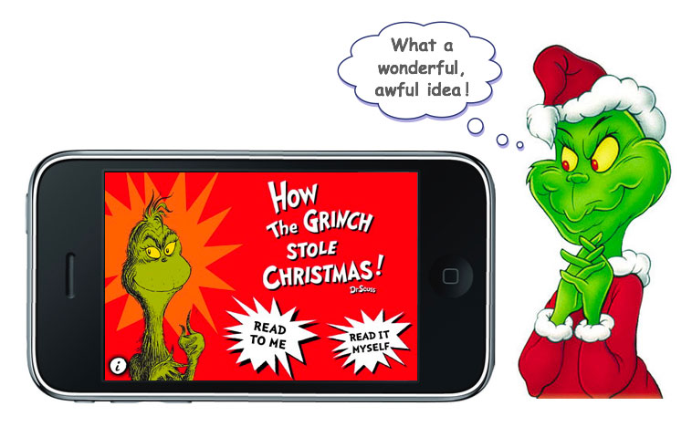 Iphone Savior How The Grinch Stole Christmas Hits App Store