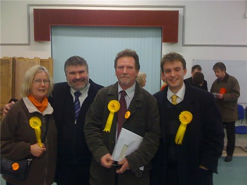 Newly elected Councillor Andy Gerard