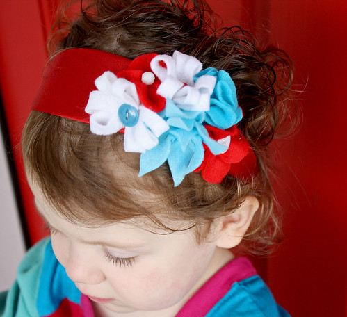 Sugar Headband on Girl