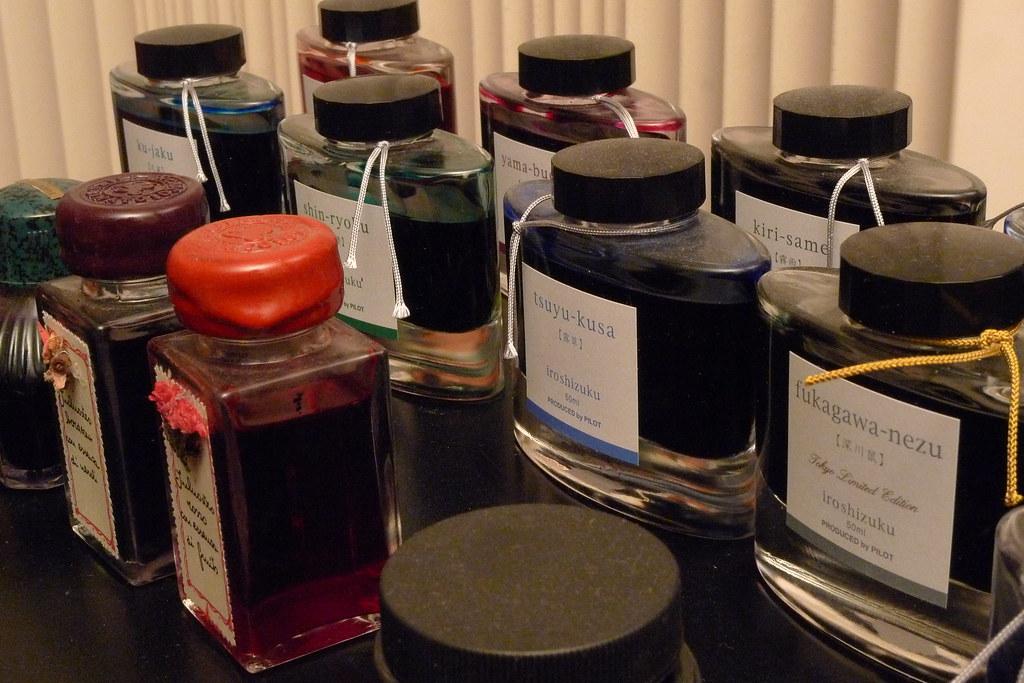ink line-up