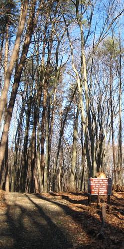 Sauratown Trail trailhead