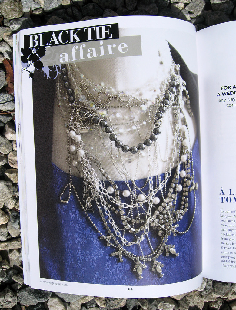 Jewelry Affaire Spring 2010 Tom Binns Necklace DIY 2