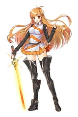 [Free Image] Graphics, Illustration, People (Illustration), Women, Mirai Millennium, Mirai Suenaga, 201105160300