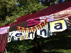 Henna booth (HennaLounge) Tags: sanfrancisco wedding india festival booth bayarea henna mehndi hennalounge