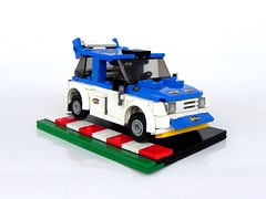 Metro 6R4 (2) (pitrek02) Tags: b lego metro rally group poland wrc lugpol