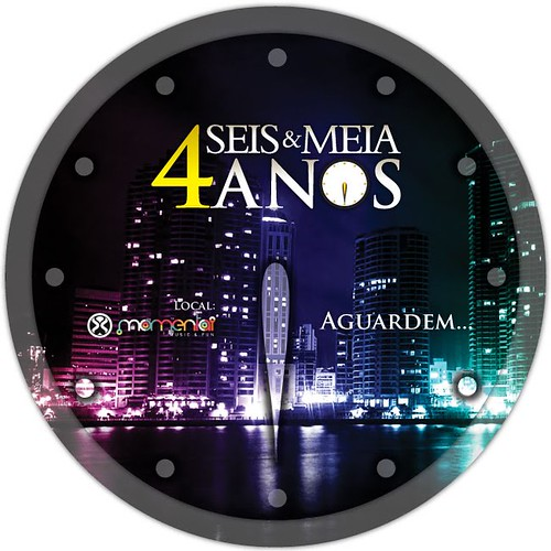 Flyer 4 Anos - Seis & Meia by chambe.com.br