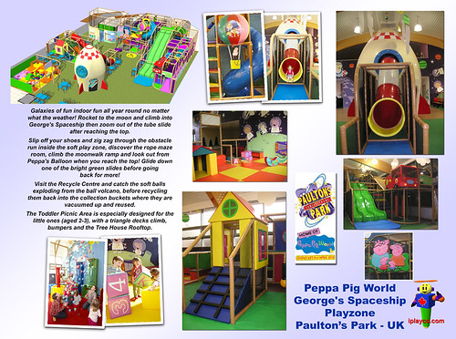 Peppa Pig - Paultons Park UK by Iplayco - Indoor Playground Equipment