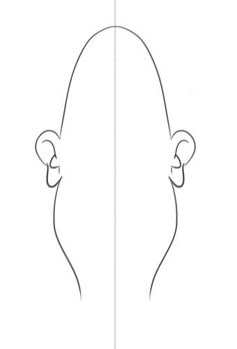 Using the Symmetry Y tool in Sketchbook Pro