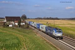 193 840 BoxXpress (vsoe) Tags: railroad train germany deutschland engine siemens eisenbahn rail railway trains bahn 193 züge niedersachsen vectron containerzug boxxpress lemförde
