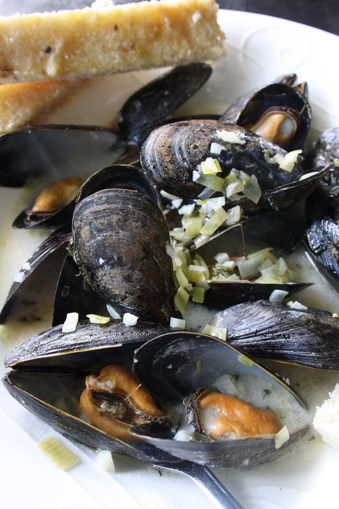 Making mussels for one