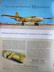 B-26 Executive Aircraft, In The $300.000 Range ( 1960 ) (Brave Heart) Tags: airplane photo aircraft picture twin 2009 1960 b26 marsman pressurized executiveaircraft flyingmagazine oct1960 executiveb26 ww2b26 1960flyingmagazine
