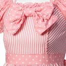 Angelic Pretty Striped Polka-dot Dress (Details; Pink) (yoshi3329) Tags: dress lolita sweetlolita angelicpretty