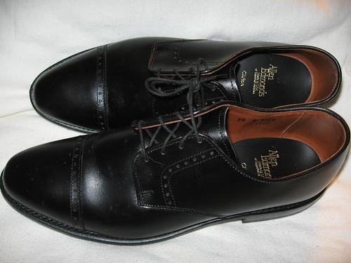 Allen Edmonds Clifton Oxfords Black Men Shoe 11 B Narrow