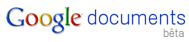logo google documents beta