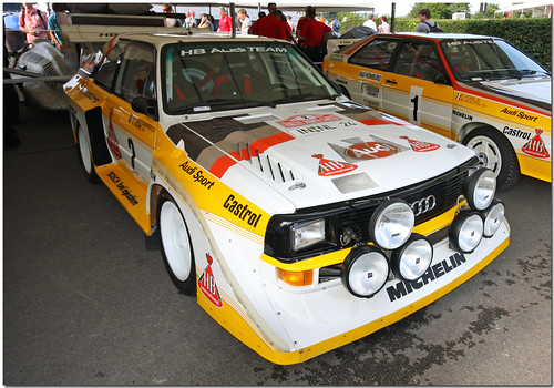 1985 Audi Sport Quattro S1 Goodwood Festival of Speed 2009