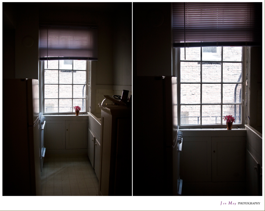 Vermeer Apartment- Kitchen Window